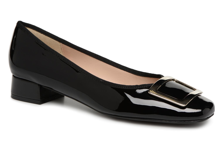Los últimos zapatos de hombre y mujer Georgia Rose Socaret (Negro) - Bailarinas en Más cómodo