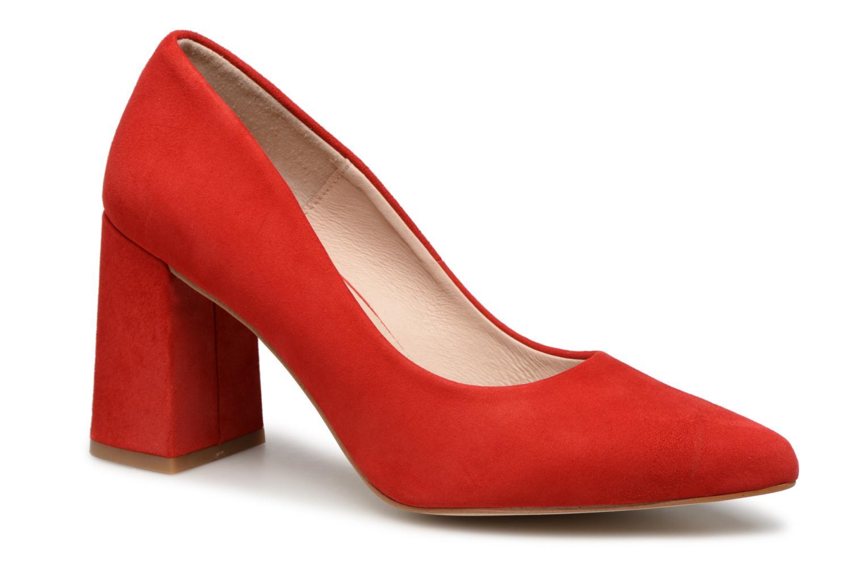 Mujer Shoe The Bear Jane S Zapatos De Tacón Rojo