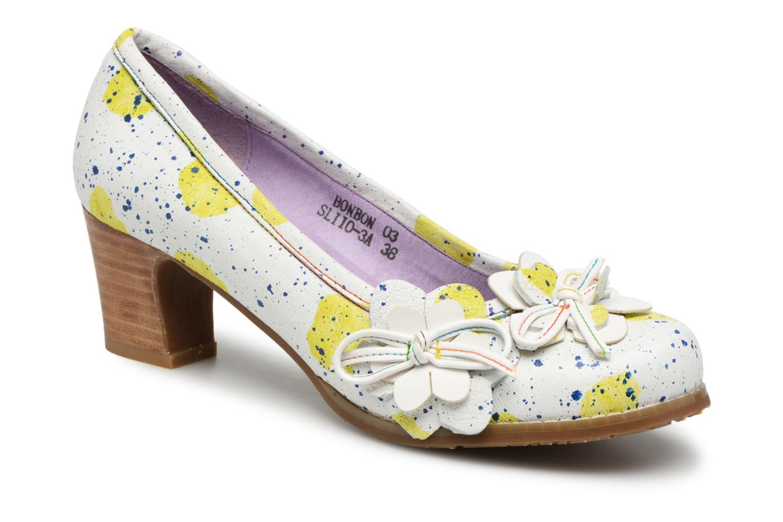 Zapatos de hombres y mujeres de moda casual Laura Vita BONBON 03 (Blanco) - Zapatos de tacón en Más cómodo