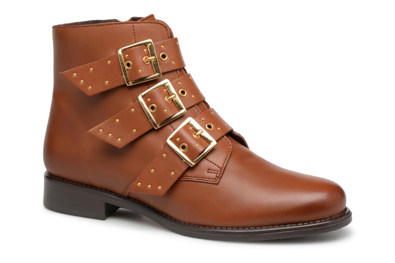 Los zapatos más populares para hombres y mujeres Georgia Rose Clarissa (Marrón) - Botines  en Más cómodo