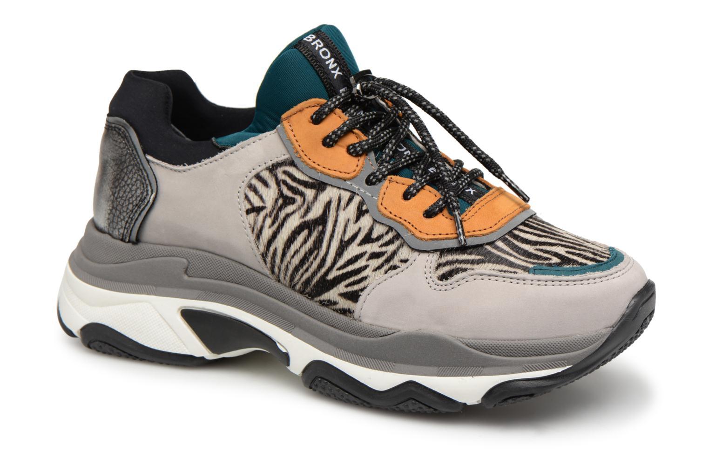 Zapatos casuales salvajes Bronx 66167-A2298 (Gris) - Deportivas en Más cómodo