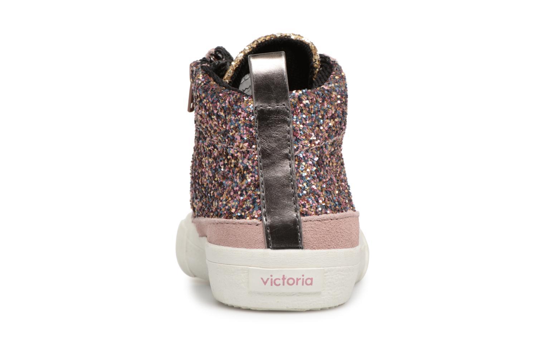 Victoria Bota Victoria Rosa Cremallera Glitter Bota 67Uq7f1