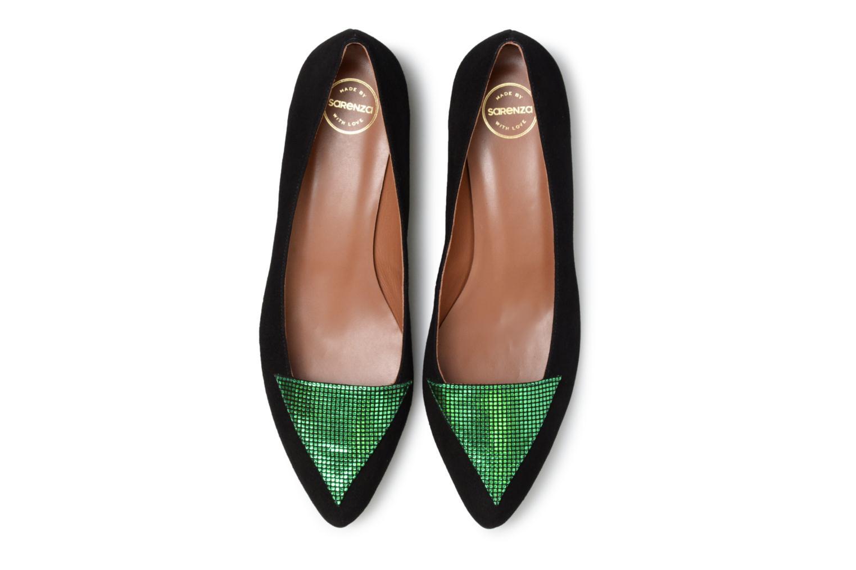 Marques Chaussure femme Made by SARENZA femme 80'S Disco Girl Ballerines #1 Cuir Métalisé Fushia