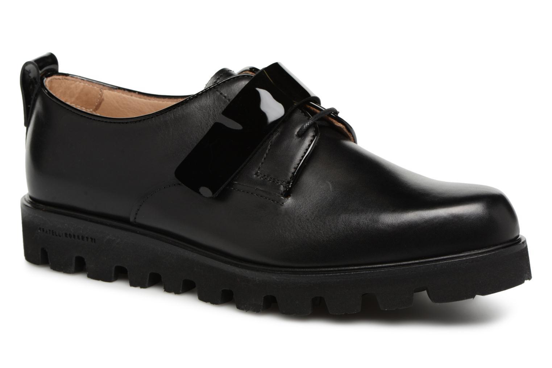 Grandes descuentos últimos zapatos Fratelli Rossetti Combo Derby (Negro) - Zapatos con cordones Descuento