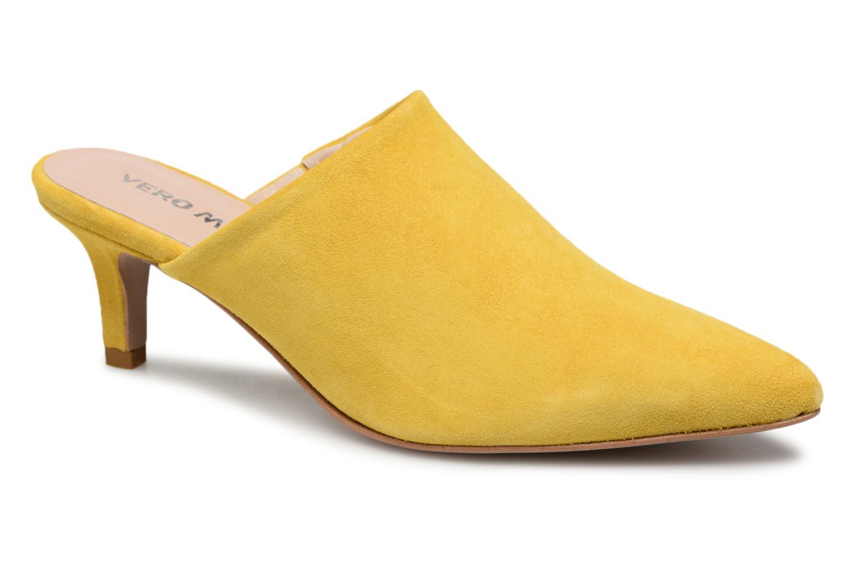 Zapatos promocionales Vero Moda Olivia Leather Mule (Amarillo) - Zuecos   Cómodo y bien parecido