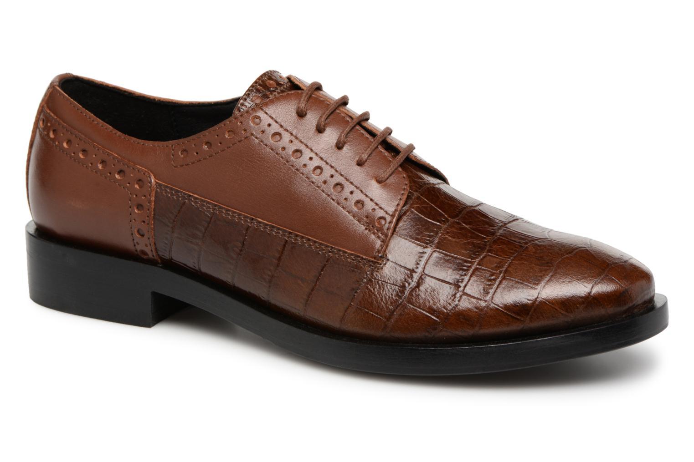 Moda barata y hermosa Geox D DONNA BROGUE B D842UB (Marrón) - Zapatos con cordones en Más cómodo