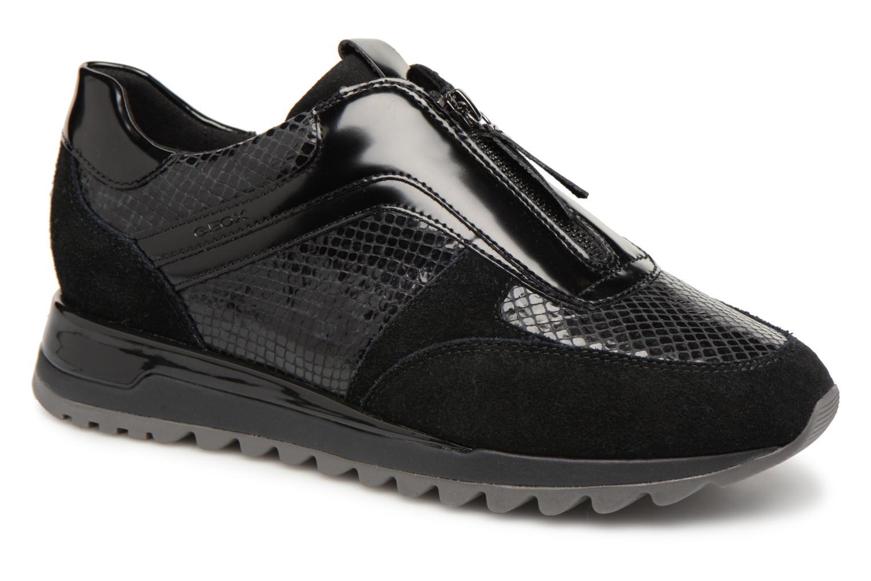Grandes zapatos descuentos últimos zapatos Grandes Geox D TABELYA A D84AQA (Negro dcf702