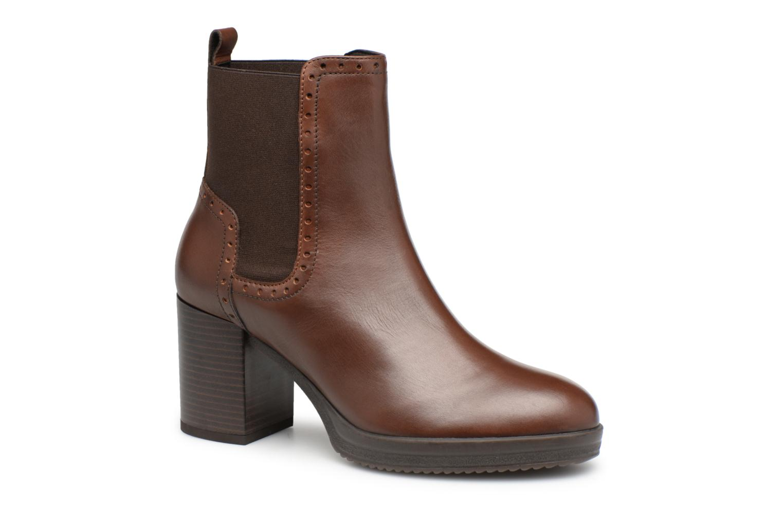 Grandes descuentos últimos zapatos Geox D REMIGIA F D84AFF (Marrón) - Botines  Descuento