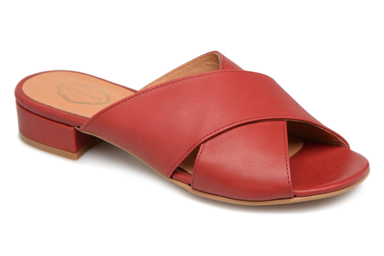 Grandes descuentos últimos zapatos Apologie AZAHAR (Rojo) - Zuecos Descuento