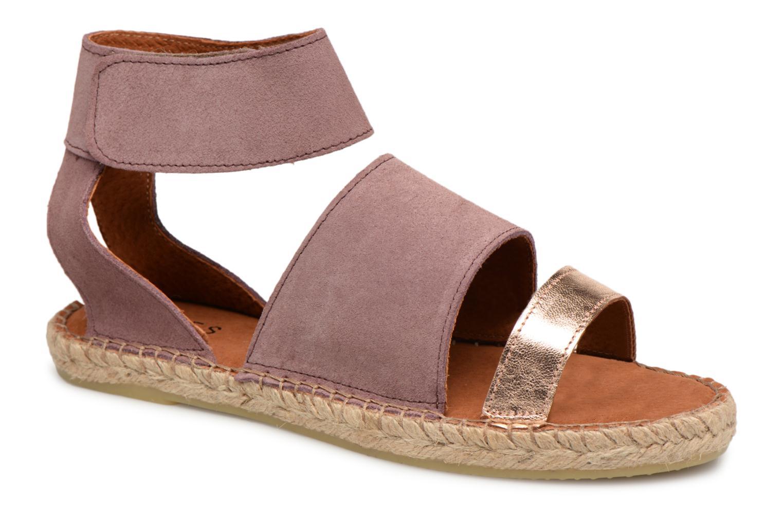 Zapatos promocionales Pieces MAISY SUEDE ESPADRILLE (Violeta) - Sandalias   Zapatos casuales salvajes