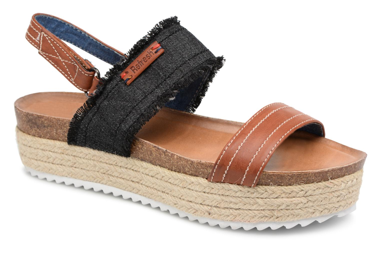 Zapatos promocionales Refresh 64430 (Negro) - Sandalias   Cómodo y bien parecido