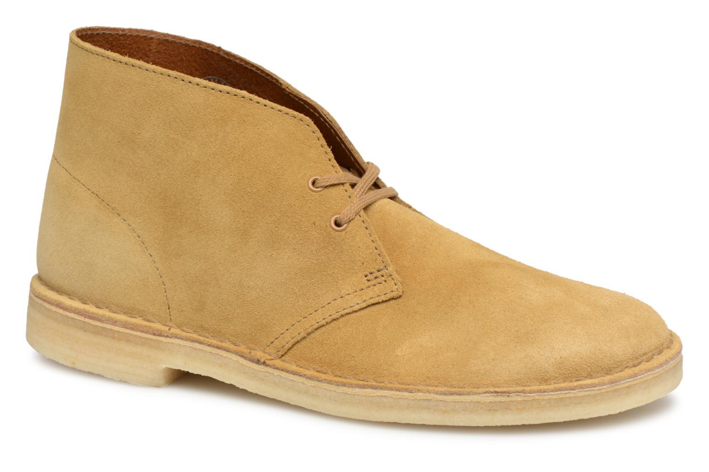 Suede Clarks Desert Originals Oak M Boot qXXFwrn5