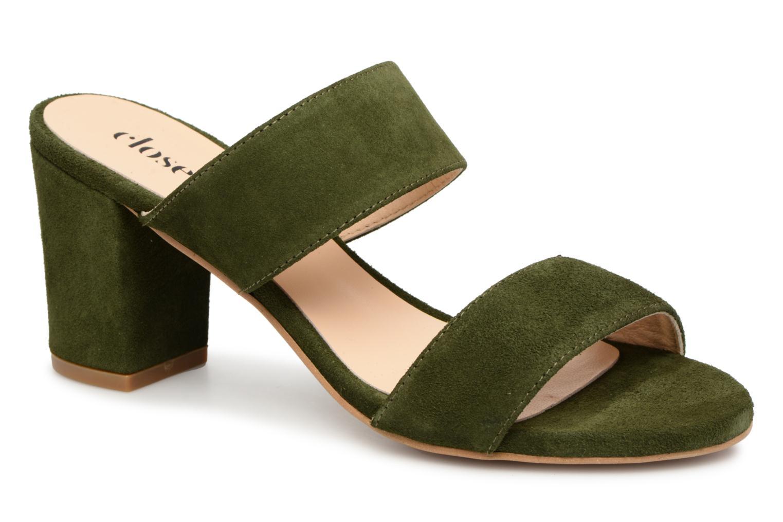 Grandes descuentos últimos zapatos Close THELMA (Verde) - Zuecos Descuento