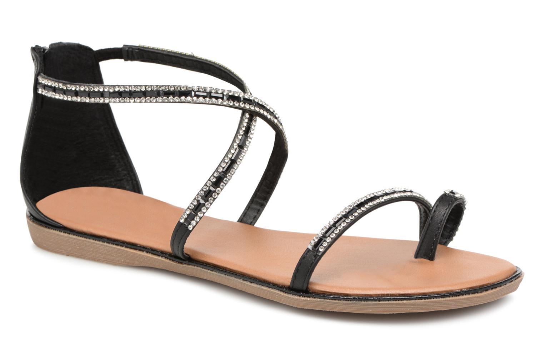 Xti 46630 (Noir) - Sandales et nu-pieds chez Sarenza (337962)