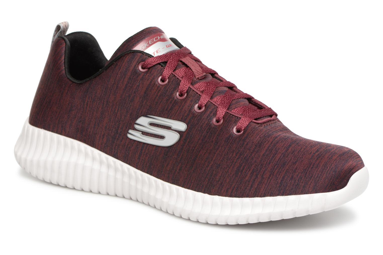 Skechers Elite Flex Attard (Rouge) - Chaussures de sport chez Sarenza (338192)