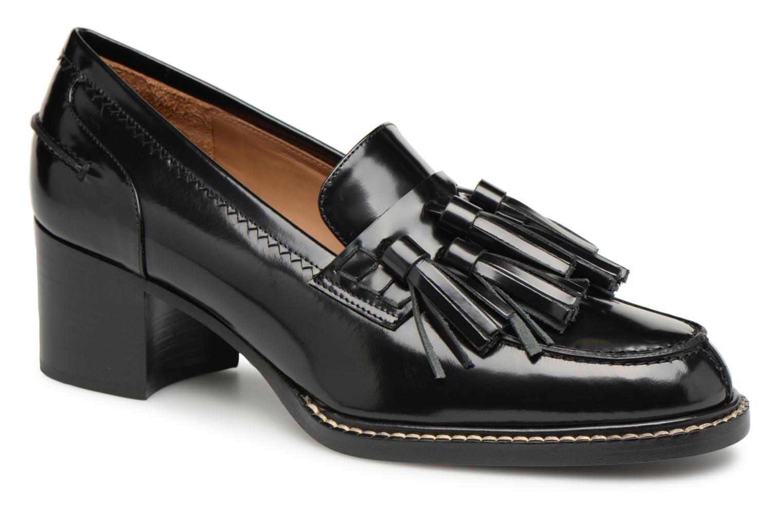 Últimos recortes de precios Veronique Branquinho Mocassins cuir noir (Negro) - Mocasines chez Sarenza