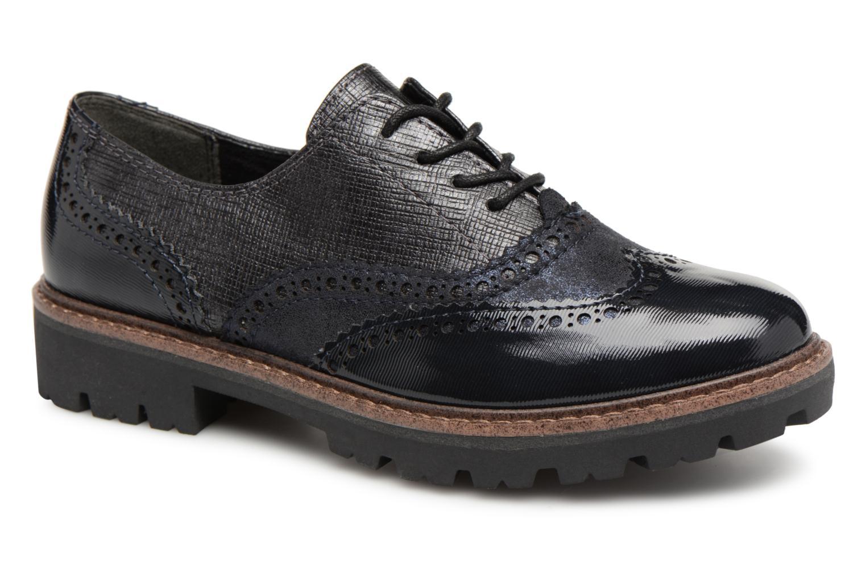 Grandes descuentos últimos zapatos Marco Tozzi ARION (Azul) - Zapatos con cordones Descuento