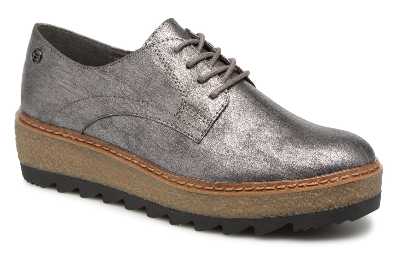 Tamaris 23775 (Gris) - Chaussures à lacets chez Sarenza (339410)