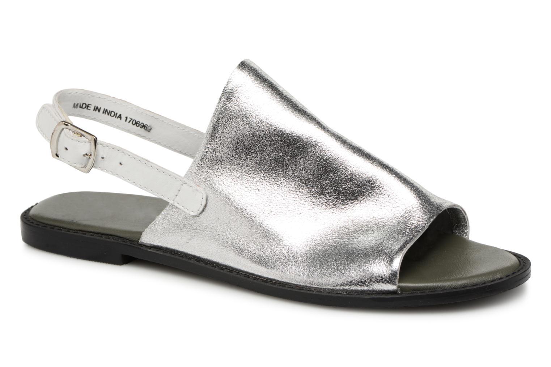 Zapatos promocionales Vero Moda Metalic sandal (Plateado) - Sandalias   Zapatos casuales salvajes