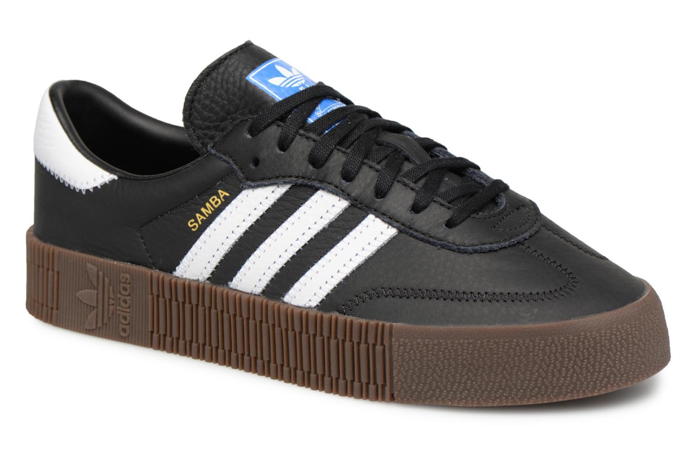 Zapatos de hombres y mujeres de moda casual Adidas Originals Sambarose W (Negro) - Deportivas en Más cómodo