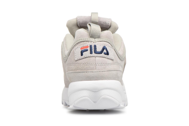 Sneakers FILA Disruptor Suede Grijs rechts