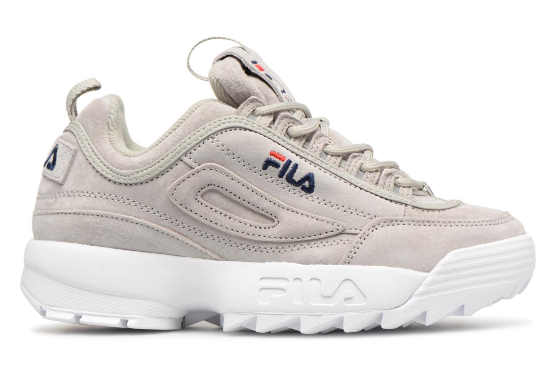 Sneaker FILA Disruptor Suede grau ansicht von hinten