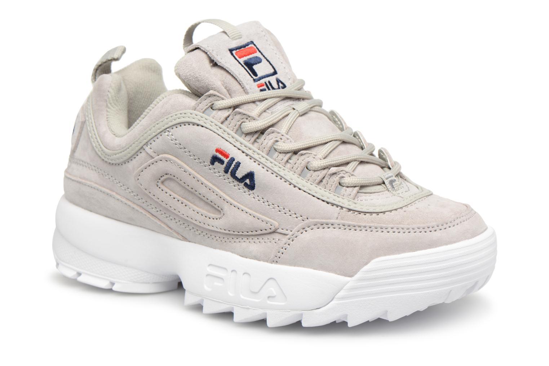 Sneakers FILA Disruptor Suede Grijs detail