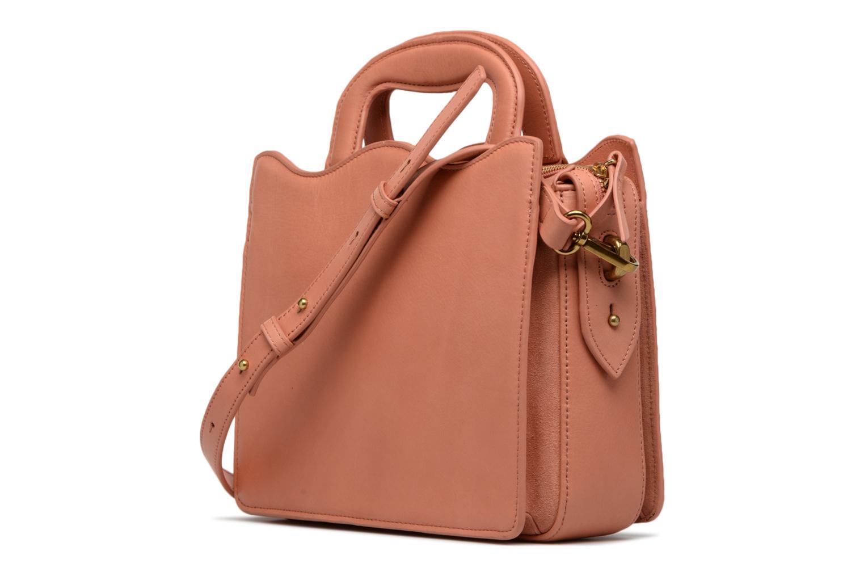 Handtaschen Nat & Nin TEREZA rosa ansicht von rechts
