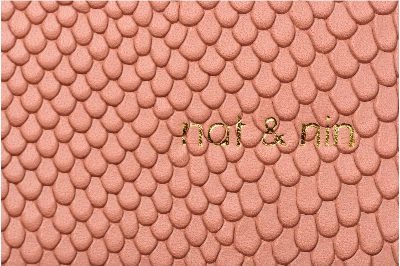 Handtaschen Nat & Nin TEREZA rosa ansicht von links