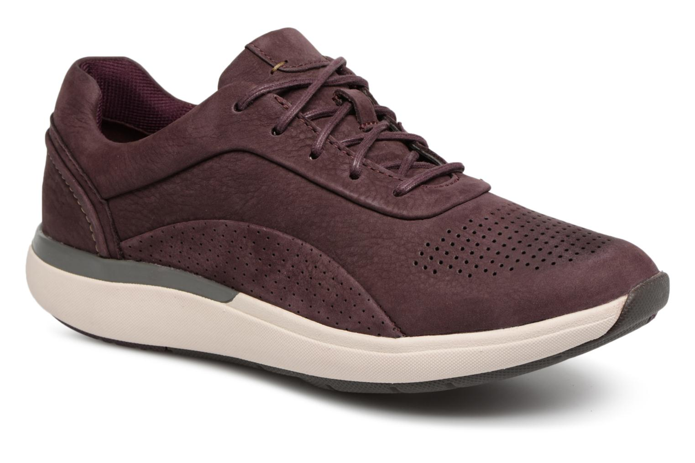 Zapatos cómodos y versátiles Clarks Unstructured Un Cruise Lace (Violeta     (Violeta  ) - Deportivas en Más cómodo d419b7