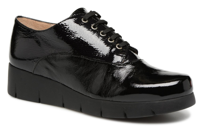 Grandes - descuentos últimos zapatos Unisa FORLI (Negro) - Grandes Zapatos con cordones Descuento 503e0d