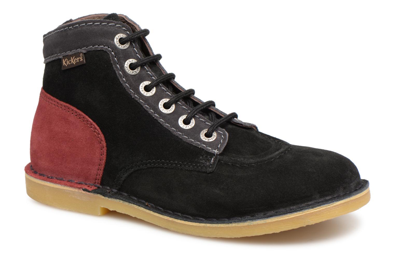 Grandes descuentos últimos zapatos Kickers ORILEGEND F MULTI (Negro) - Botines  Descuento