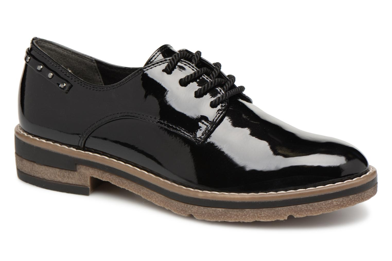 Grandes descuentos últimos zapatos Tamaris RITA (Negro) - Zapatos con cordones Descuento