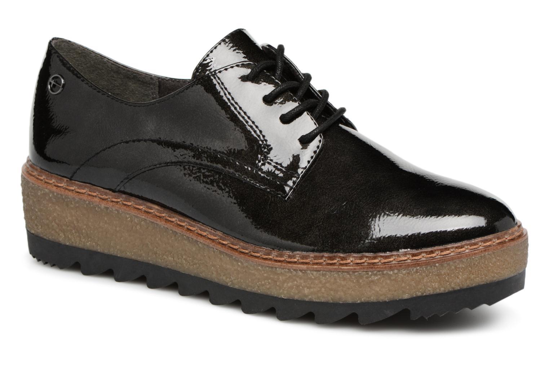 71d1deddb7f Grandes descuentos últimos zapatos Tamaris MANAUS (Negro) - Zapatos con  cordones Descuento