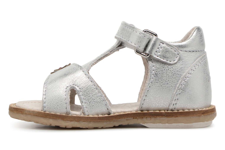 Sandales et nu-pieds Noël MINI STEBI 1 Argent vue face