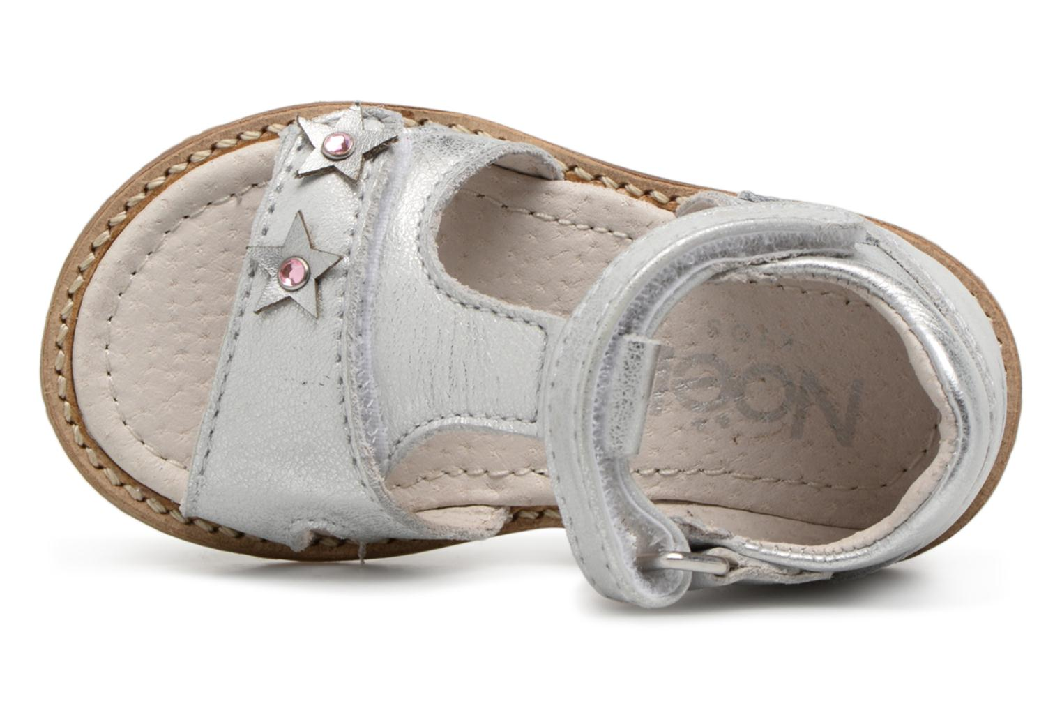 Sandalen Noël MINI STEBI 1 Zilver links