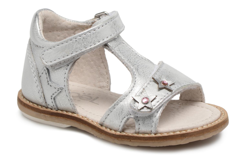 Sandales et nu-pieds Noël MINI STEBI 1 Argent vue détail/paire