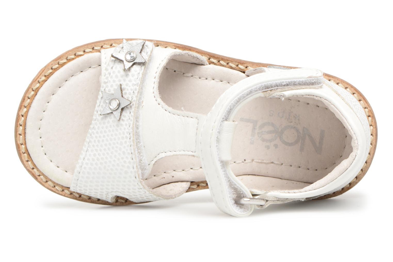 Sandales et nu-pieds Noël MINI STEBI 1 Blanc vue gauche