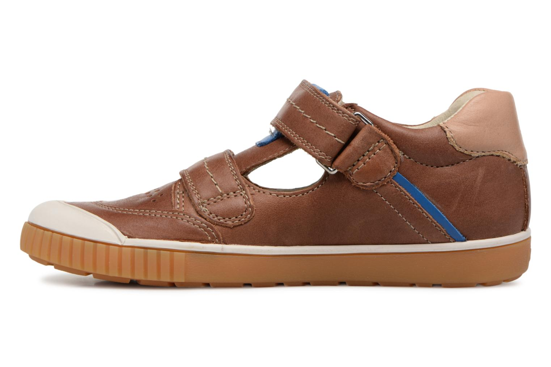 Sneakers Noël OSCAR 2 Bruin voorkant