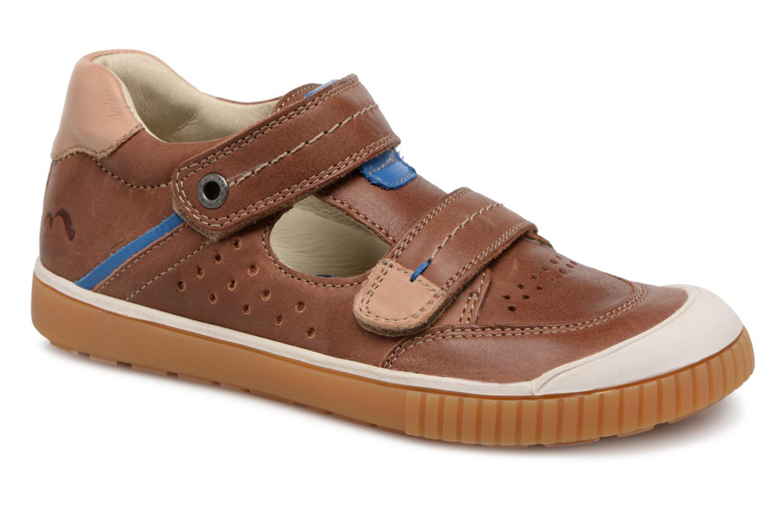 Sneakers Noël OSCAR 2 Bruin detail