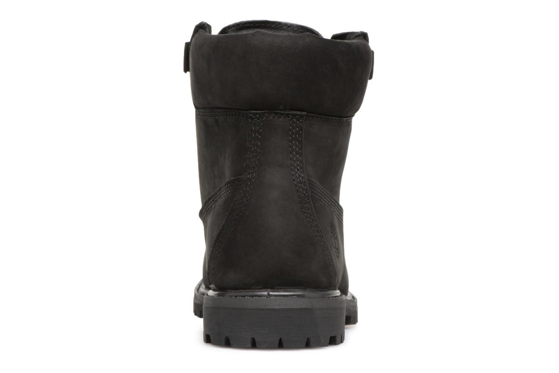 Bottines et boots Timberland 6in Premium Convenience Noir vue droite