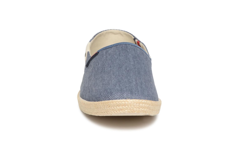 Espadrilles Tommy Hilfiger Ian 2D blau schuhe getragen
