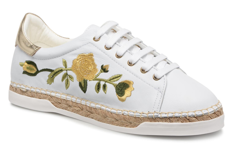 Zapatos cómodos Martin y versátiles Canal St Martin cómodos LANCRY FELURS (Blanco) - Deportivas en Más cómodo 777286