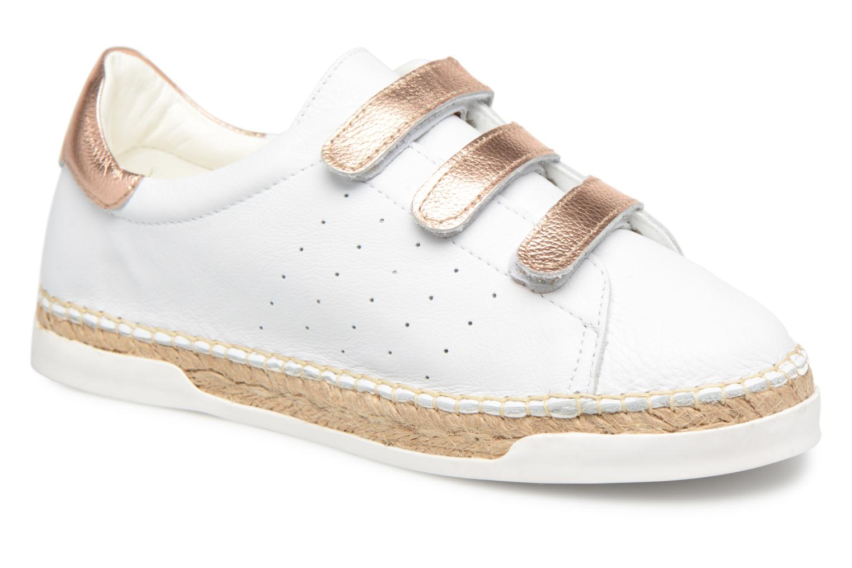 Grandes descuentos últimos zapatos Canal St Martin LANCRY SCRATCH (Blanco) - Deportivas Descuento