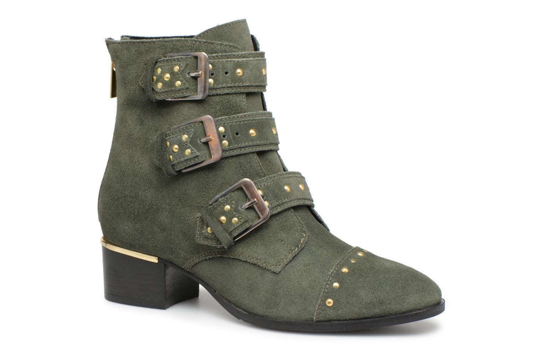 Zapatos especiales para hombres y mujeres Bronx Brune 46979 (Verde) - Botines  en Más cómodo