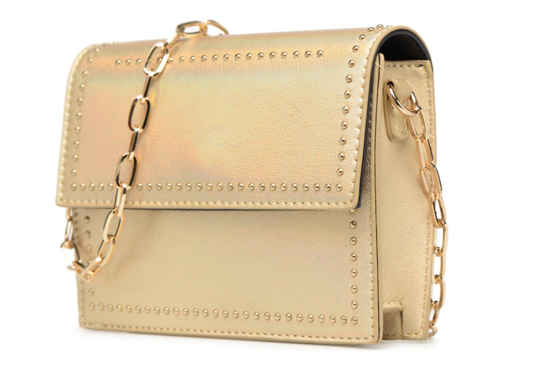 Handtaschen Street Level Mettalic chainstrap crossbody gold/bronze schuhe getragen