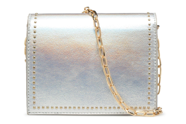 Handtaschen Street Level Mettalic chainstrap crossbody silber ansicht von vorne