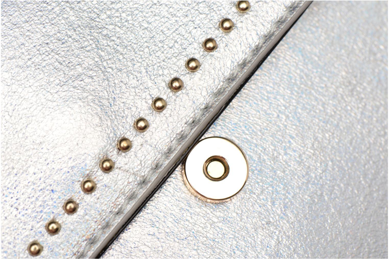 Handtaschen Street Level Mettalic chainstrap crossbody silber ansicht von links
