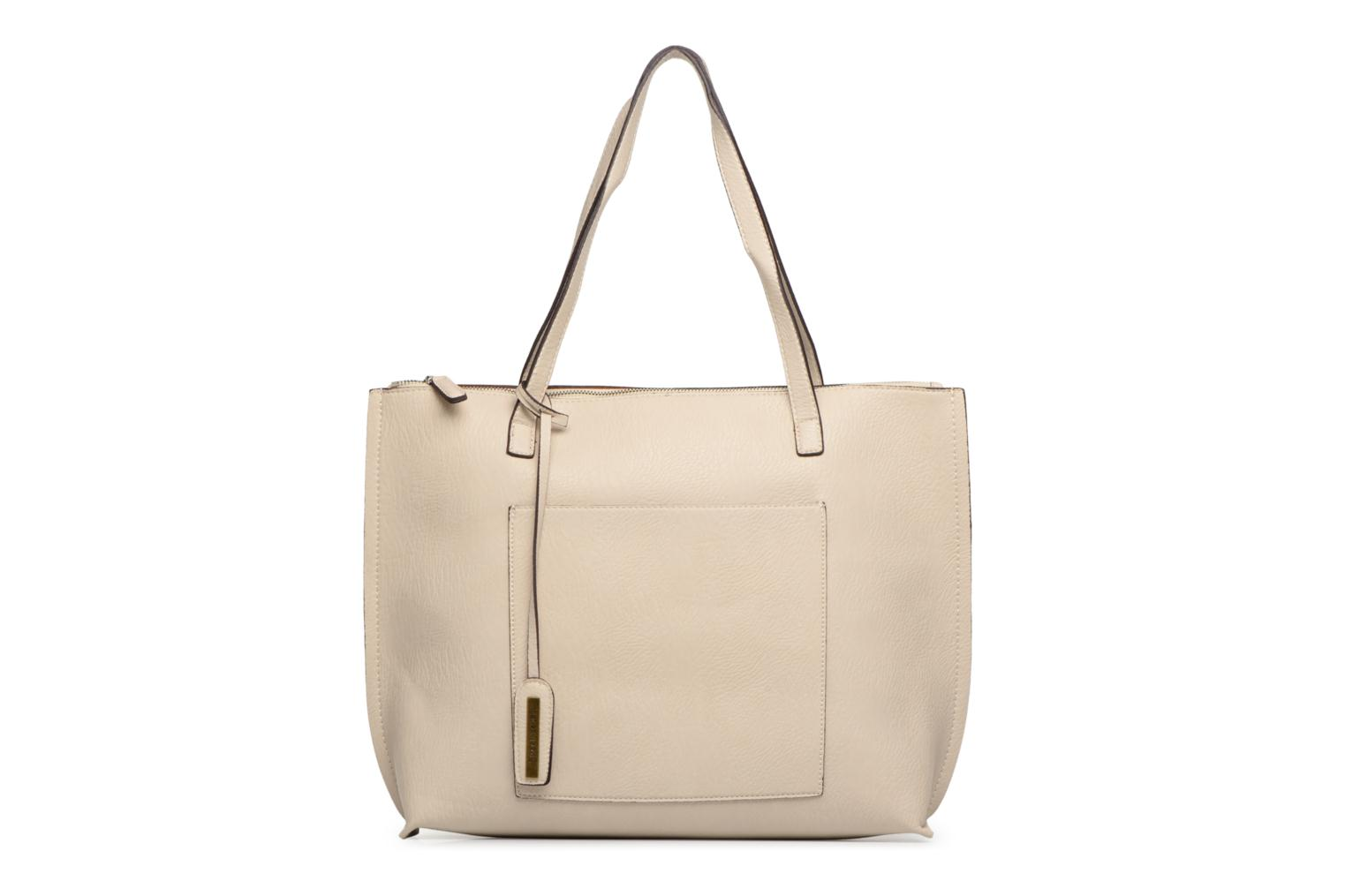 Sacs à main Street Level Tote with top zipper Beige vue détail/paire
