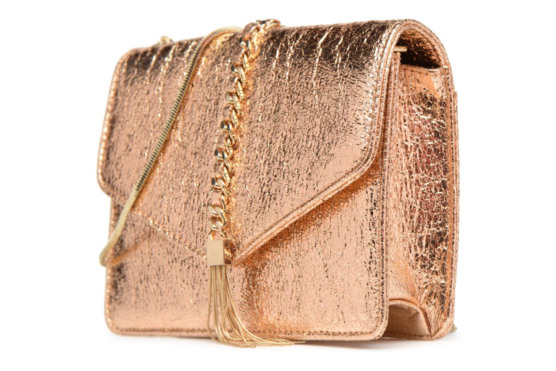 Handtassen Street Level Shoulder bag w/chain and tassel detail Zilver model